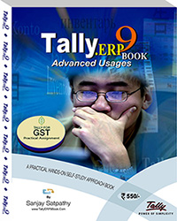 TallyERP9 Book (Advanced Usage)-New 2020 Edition